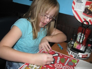 Passing time at TGI Friday